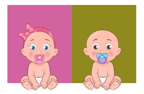 Dárek pro dítě podle barvy