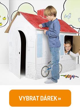 Papírový dětský domeček