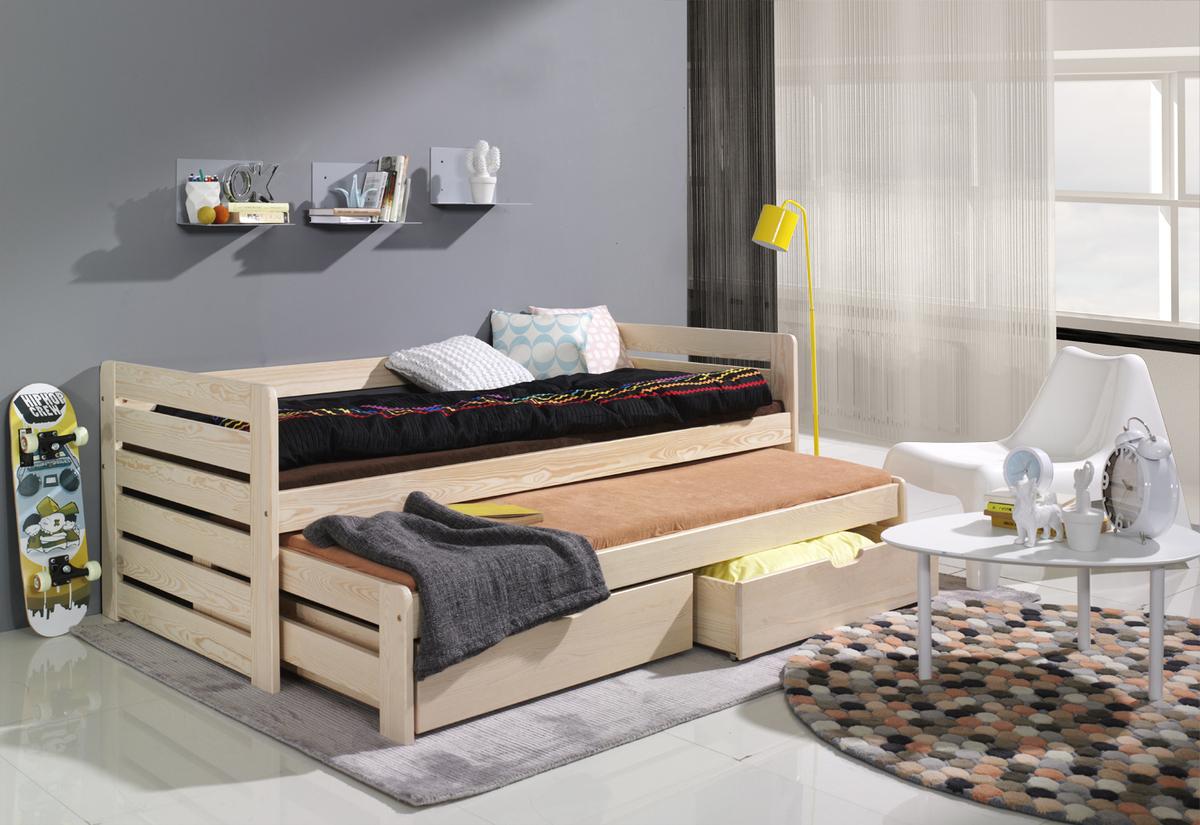 Dětské postele s přístylkou