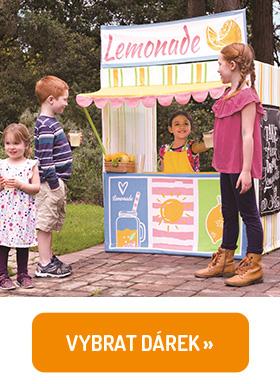 Dětský prodejní stánek