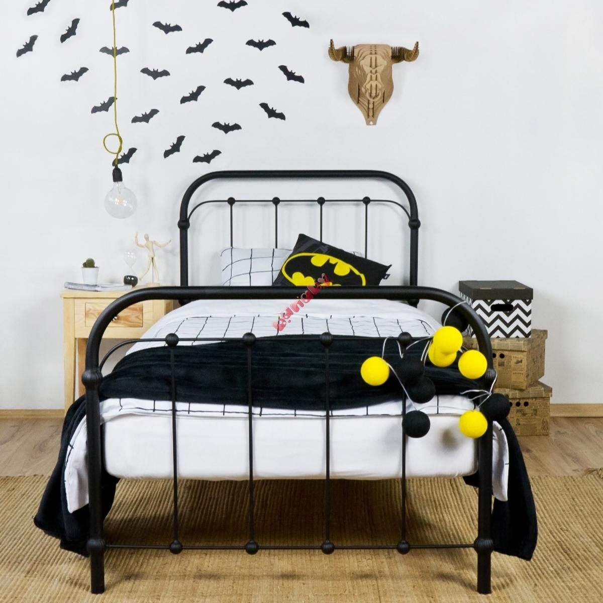 95582bb57c2d Kovová postel Bibi 200x90 cm černá - banaby.cz