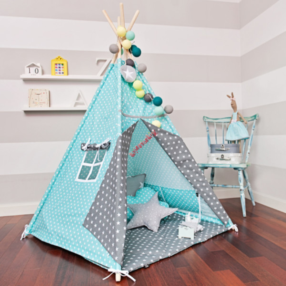teepee tyrkysov n dech. Black Bedroom Furniture Sets. Home Design Ideas
