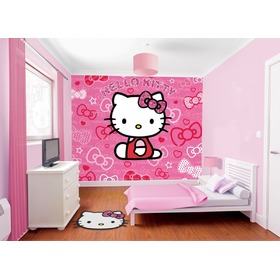3D tapeta Hello Kitty