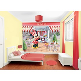 3D tapeta Minnie, Walltastic, Minnie Mouse