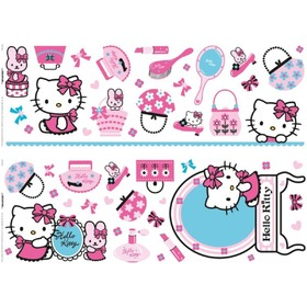 Nálepky Hello Kitty, Decofun, Hello Kitty