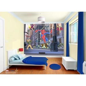 3D Tapeta SPIDERMAN SPECTACULAR, Walltastic
