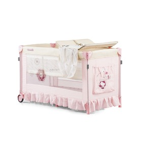 CHIPOLINO Cestovní postýlka Play pen and crib  Sahara - flower girl, CHIPOLINO LTD.
